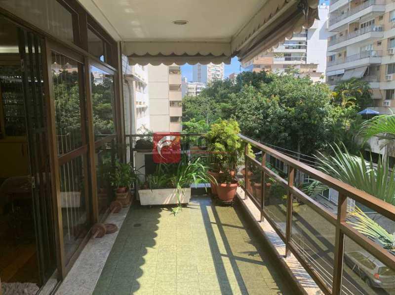 VARANDA - Apartamento à venda Rua Artur Araripe,Gávea, Rio de Janeiro - R$ 3.800.000 - JBAP40425 - 3