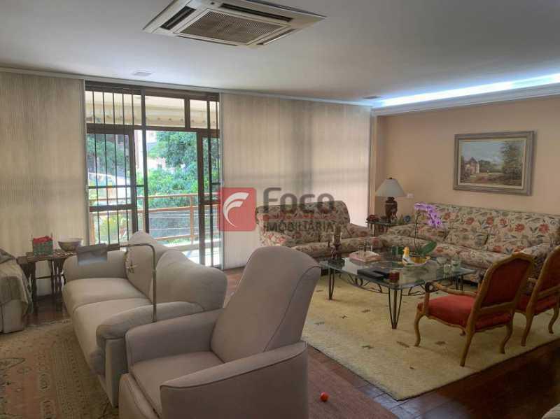 SALA - Apartamento à venda Rua Artur Araripe,Gávea, Rio de Janeiro - R$ 3.800.000 - JBAP40425 - 5