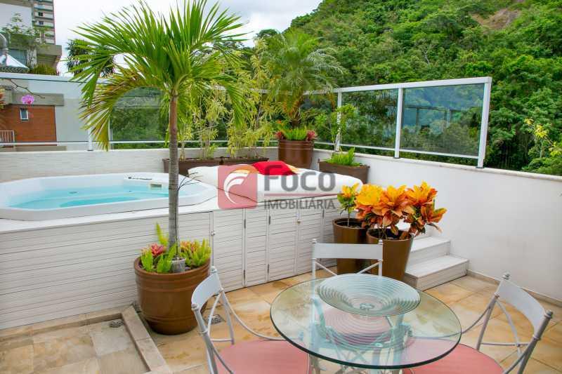 PISCINA 2º PISO - 3 - Cobertura à venda Avenida Epitácio Pessoa,Lagoa, Rio de Janeiro - R$ 2.500.000 - JBCO30203 - 3