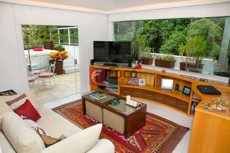SALA 2º PISO - Cobertura à venda Avenida Epitácio Pessoa,Lagoa, Rio de Janeiro - R$ 2.500.000 - JBCO30203 - 4