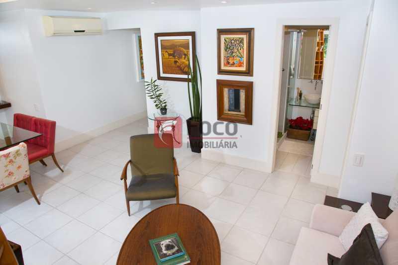 SALA DE ESTAR 1º PISO - 3 - Cobertura à venda Avenida Epitácio Pessoa,Lagoa, Rio de Janeiro - R$ 2.500.000 - JBCO30203 - 7