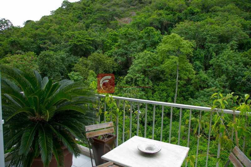 VARANDA 1º PISO 1 - Cobertura à venda Avenida Epitácio Pessoa,Lagoa, Rio de Janeiro - R$ 2.500.000 - JBCO30203 - 5