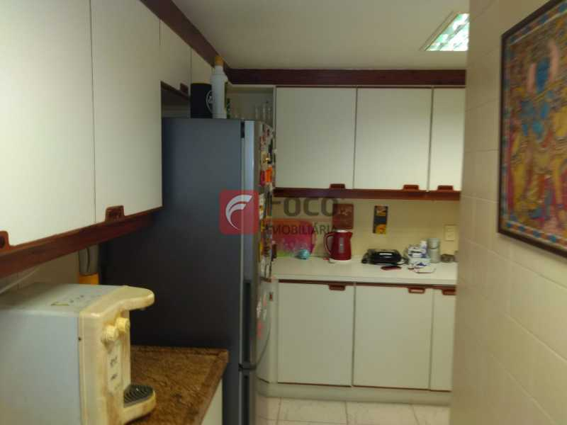 Cozinha - Cobertura à venda Avenida Epitácio Pessoa,Lagoa, Rio de Janeiro - R$ 2.500.000 - JBCO30203 - 19