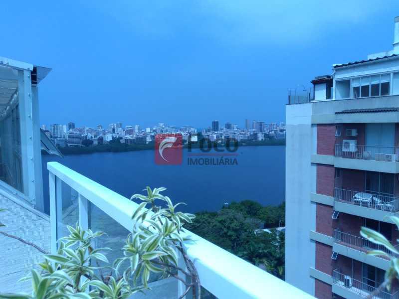 vista - Cobertura à venda Avenida Epitácio Pessoa,Lagoa, Rio de Janeiro - R$ 2.500.000 - JBCO30203 - 10