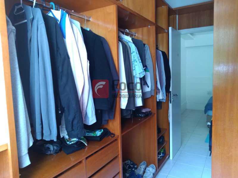 CLOSET - Cobertura à venda Avenida Epitácio Pessoa,Lagoa, Rio de Janeiro - R$ 2.500.000 - JBCO30203 - 16
