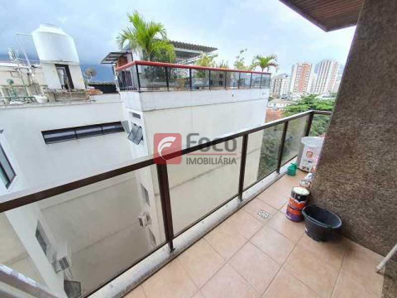 10 - Apartamento à venda Avenida Bartolomeu Mitre,Leblon, Rio de Janeiro - R$ 1.200.000 - JBAP10388 - 10