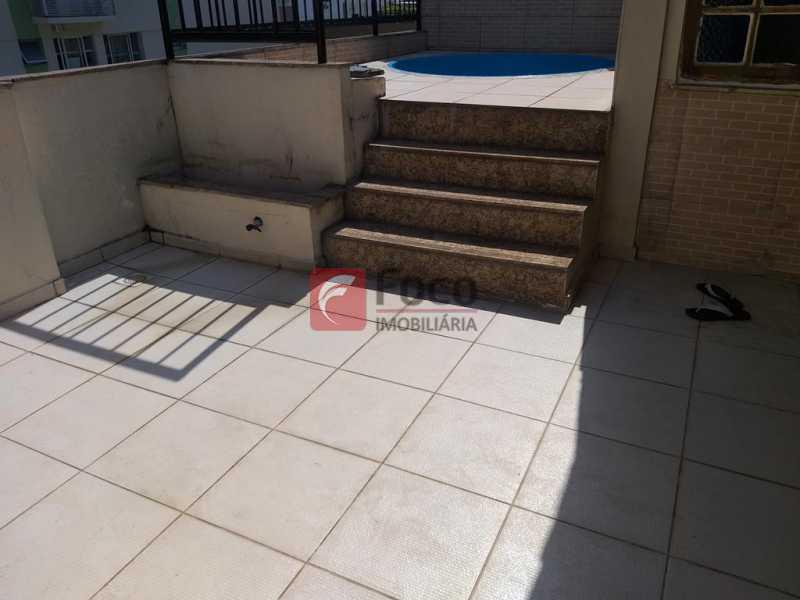 TERRAÇO - Cobertura à venda Rua Assis Bueno,Botafogo, Rio de Janeiro - R$ 1.260.000 - JBCO10014 - 12