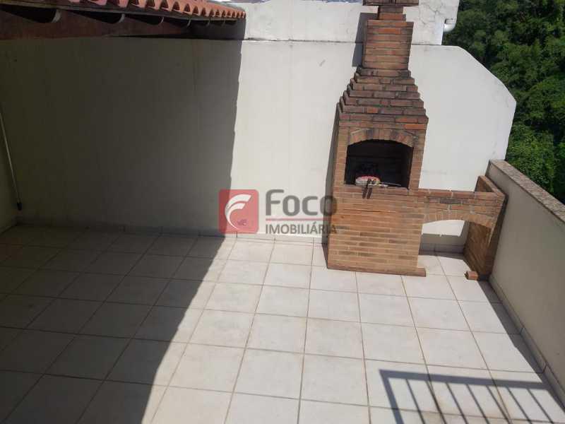 CHURRASUQUEIRA - Cobertura à venda Rua Assis Bueno,Botafogo, Rio de Janeiro - R$ 1.260.000 - JBCO10014 - 16