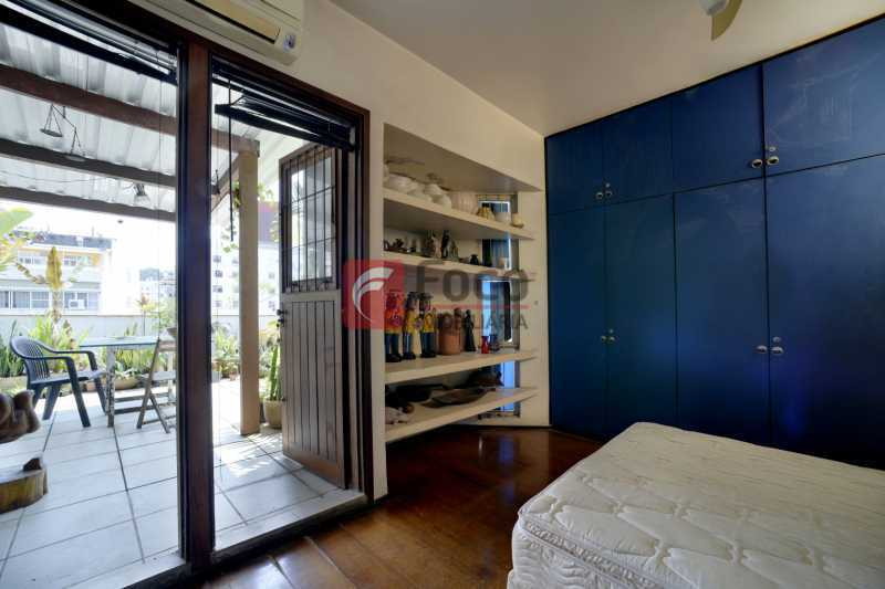 quarto azul_GRI2199_200_201_fu - Cobertura à venda Rua Voluntários da Pátria,Botafogo, Rio de Janeiro - R$ 1.700.000 - JBCO40100 - 10
