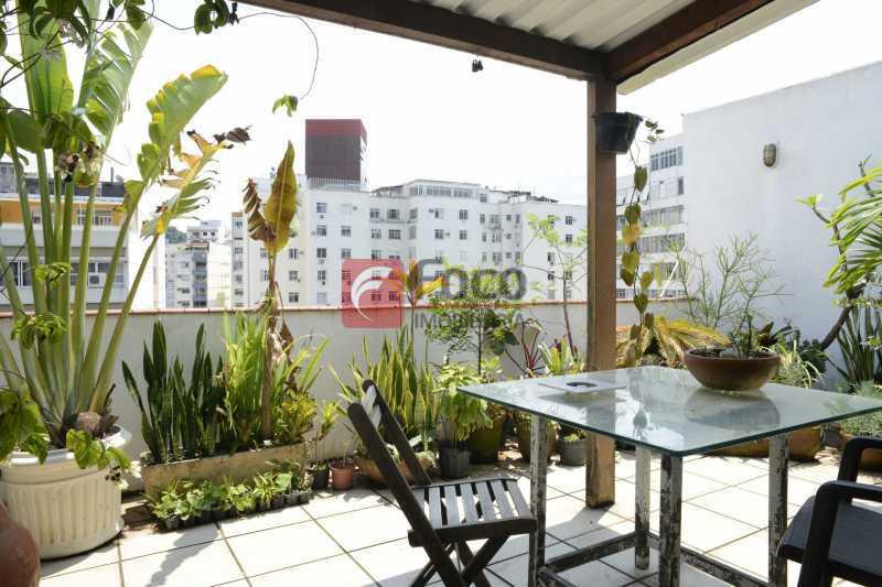 terraço_GRI2221_- - Cobertura à venda Rua Voluntários da Pátria,Botafogo, Rio de Janeiro - R$ 1.700.000 - JBCO40100 - 1