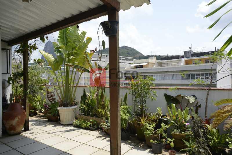 terraço_GRI2225_- - Cobertura à venda Rua Voluntários da Pátria,Botafogo, Rio de Janeiro - R$ 1.700.000 - JBCO40100 - 3