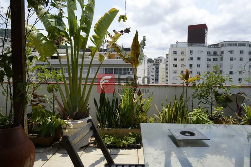 terraço_GRI2227_- - Cobertura à venda Rua Voluntários da Pátria,Botafogo, Rio de Janeiro - R$ 1.700.000 - JBCO40100 - 9