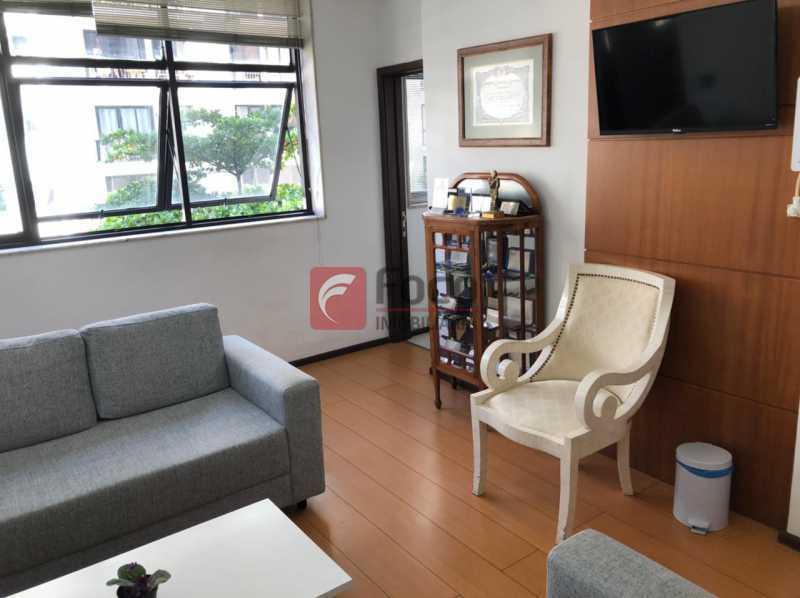 RECEPÇÃO: - Sala Comercial 51m² à venda Rua Voluntários Da Pátria,Botafogo, Rio de Janeiro - R$ 780.000 - JBSL00092 - 3