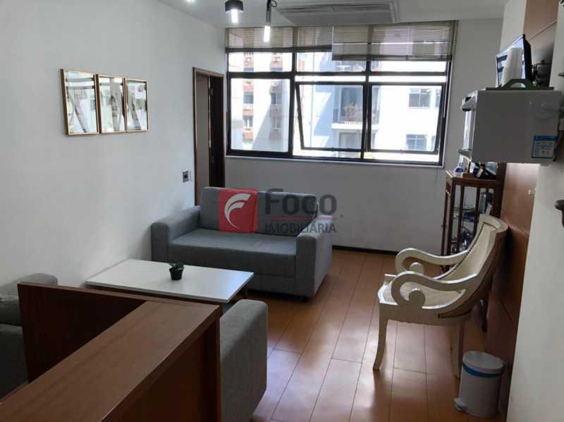 RECEPÇÃO: - Sala Comercial 51m² à venda Rua Voluntários Da Pátria,Botafogo, Rio de Janeiro - R$ 780.000 - JBSL00092 - 1