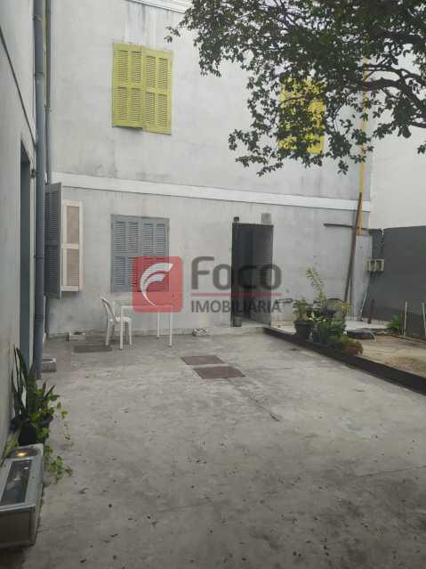 PÁTIO - Casa Comercial 240m² à venda Rua Bambina,Botafogo, Rio de Janeiro - R$ 4.500.000 - JBCC130002 - 28