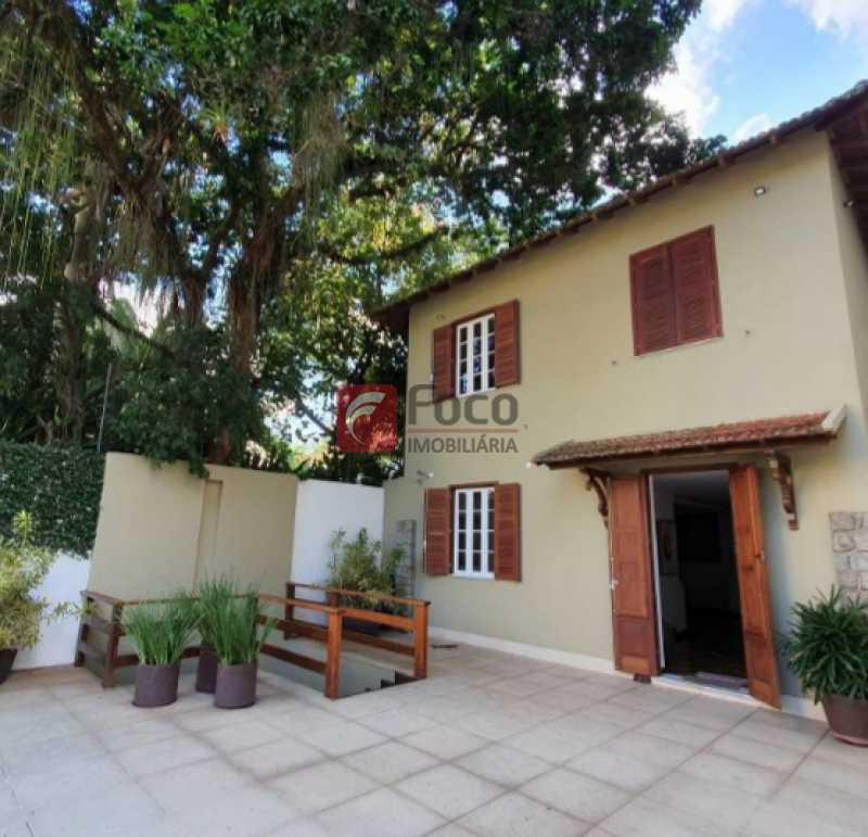 7 - Casa à venda Rua Corcovado,Jardim Botânico, Rio de Janeiro - R$ 6.970.000 - JBCA60021 - 1