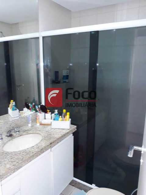 BANHEIRO SUÍTE 1 - Cobertura à venda Rua Engenheiro Marques Porto,Humaitá, Rio de Janeiro - R$ 1.800.000 - JBCO30205 - 9
