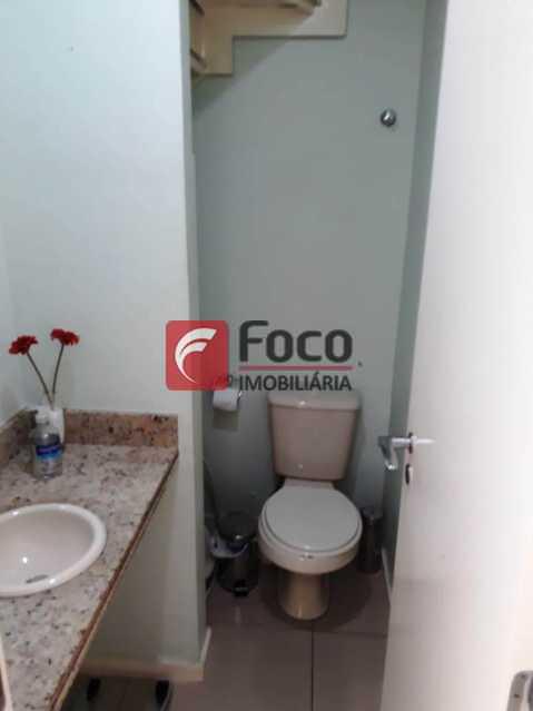 LAVABO - Cobertura à venda Rua Engenheiro Marques Porto,Humaitá, Rio de Janeiro - R$ 1.800.000 - JBCO30205 - 16