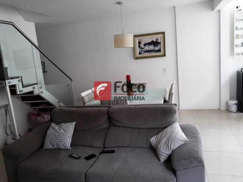 SALA - Cobertura à venda Rua Engenheiro Marques Porto,Humaitá, Rio de Janeiro - R$ 1.800.000 - JBCO30205 - 5