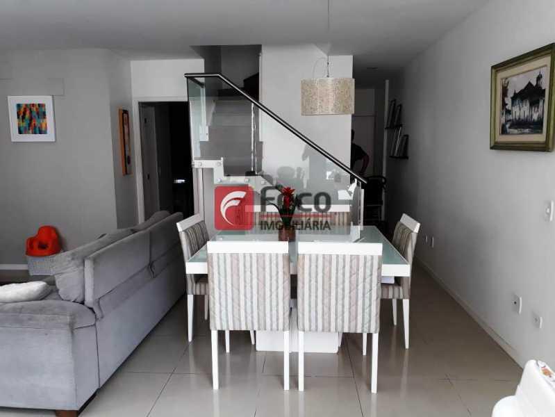 SALA - Cobertura à venda Rua Engenheiro Marques Porto,Humaitá, Rio de Janeiro - R$ 1.800.000 - JBCO30205 - 3