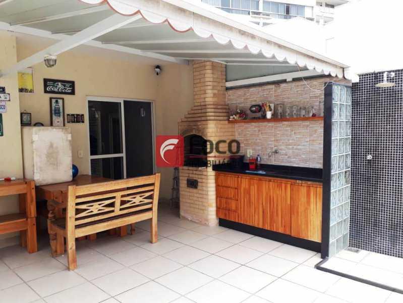 TERRAÇO - Cobertura à venda Rua Engenheiro Marques Porto,Humaitá, Rio de Janeiro - R$ 1.800.000 - JBCO30205 - 1