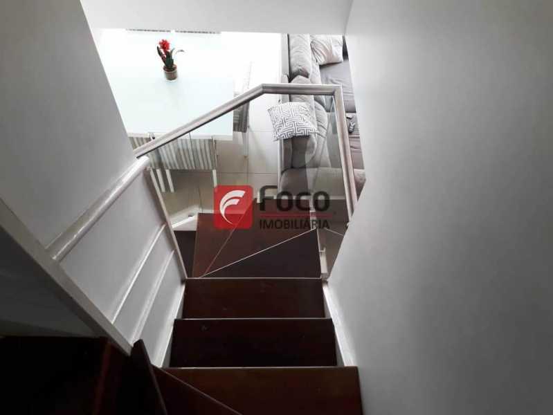ESCADA LINEAR - Cobertura à venda Rua Engenheiro Marques Porto,Humaitá, Rio de Janeiro - R$ 1.800.000 - JBCO30205 - 20