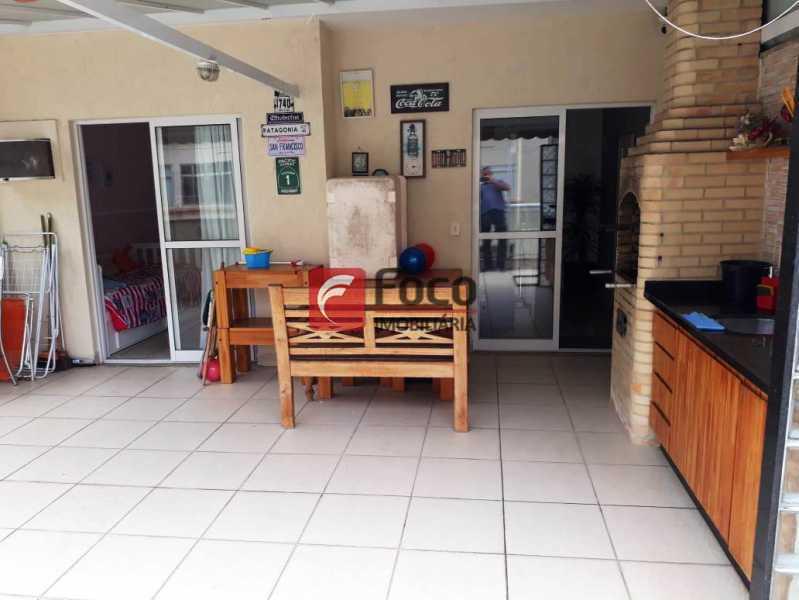 TERRAÇO - Cobertura à venda Rua Engenheiro Marques Porto,Humaitá, Rio de Janeiro - R$ 1.800.000 - JBCO30205 - 23
