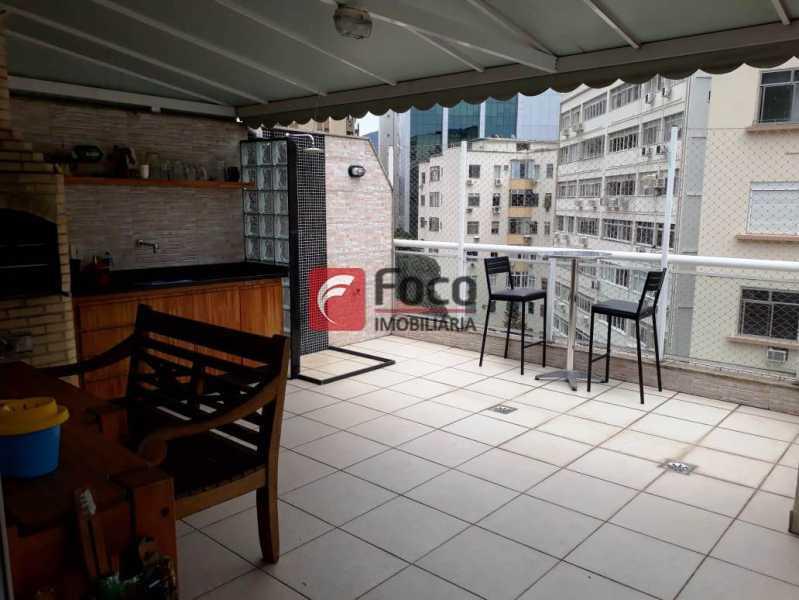 TERRAÇO - Cobertura à venda Rua Engenheiro Marques Porto,Humaitá, Rio de Janeiro - R$ 1.800.000 - JBCO30205 - 24