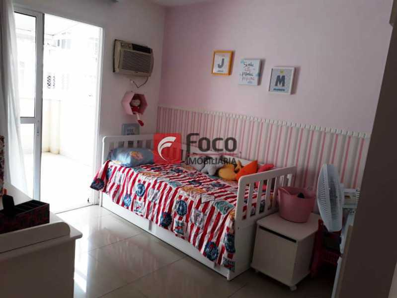 QUARTO - Cobertura à venda Rua Engenheiro Marques Porto,Humaitá, Rio de Janeiro - R$ 1.800.000 - JBCO30205 - 21