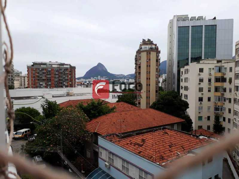 VISTA PARCIAL LAGOA - Cobertura à venda Rua Engenheiro Marques Porto,Humaitá, Rio de Janeiro - R$ 1.800.000 - JBCO30205 - 27