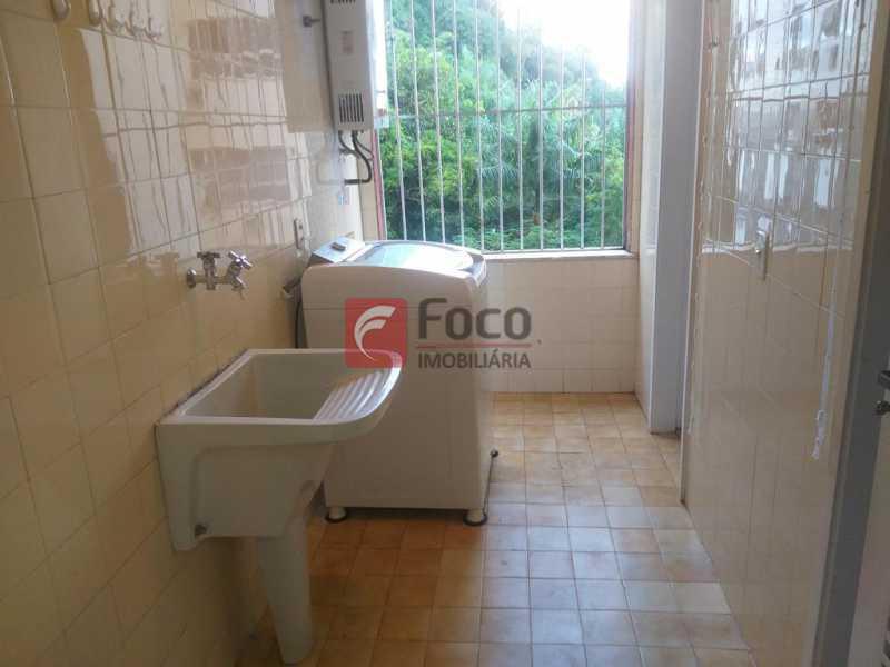 ÁREA DE SERVIÇO - Apartamento à venda Rua Major Rúbens Vaz,Gávea, Rio de Janeiro - R$ 1.250.000 - JBAP21290 - 13