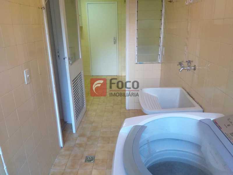 ÁREA DE SERVIÇO - Apartamento à venda Rua Major Rúbens Vaz,Gávea, Rio de Janeiro - R$ 1.250.000 - JBAP21290 - 14
