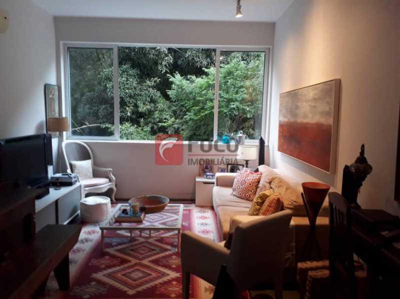1 - Apartamento à venda Rua Cosme Velho,Cosme Velho, Rio de Janeiro - R$ 930.000 - JBAP21297 - 1
