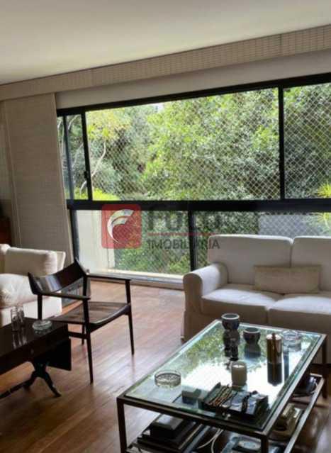 SALA DE ESTAR: - Apartamento à venda Rua Marquês de São Vicente,Gávea, Rio de Janeiro - R$ 2.500.000 - JBAP40444 - 1