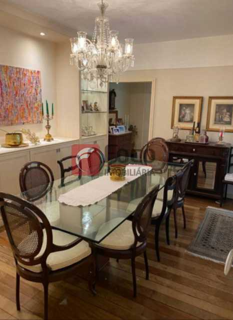 SALA DE JANTAR: - Apartamento à venda Rua Marquês de São Vicente,Gávea, Rio de Janeiro - R$ 2.500.000 - JBAP40444 - 3