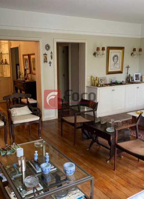 SALA DE ESTAR: - Apartamento à venda Rua Marquês de São Vicente,Gávea, Rio de Janeiro - R$ 2.500.000 - JBAP40444 - 6