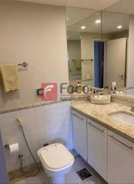 BANHEIRO SOCIAL: - Apartamento à venda Rua Marquês de São Vicente,Gávea, Rio de Janeiro - R$ 2.500.000 - JBAP40444 - 12