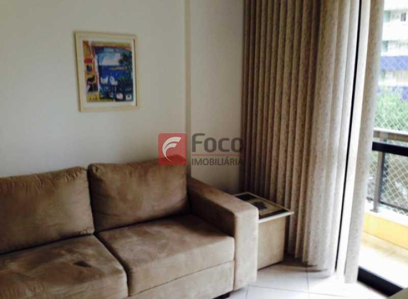 1 - Flat à venda Rua da Passagem,Botafogo, Rio de Janeiro - R$ 620.000 - JBFL10042 - 1