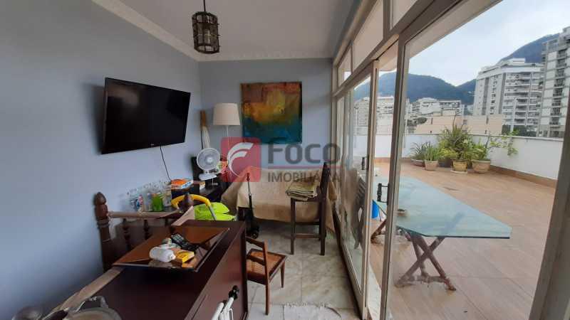 7 - Cobertura à venda Rua J. Carlos,Jardim Botânico, Rio de Janeiro - R$ 2.820.000 - JBCO30210 - 9