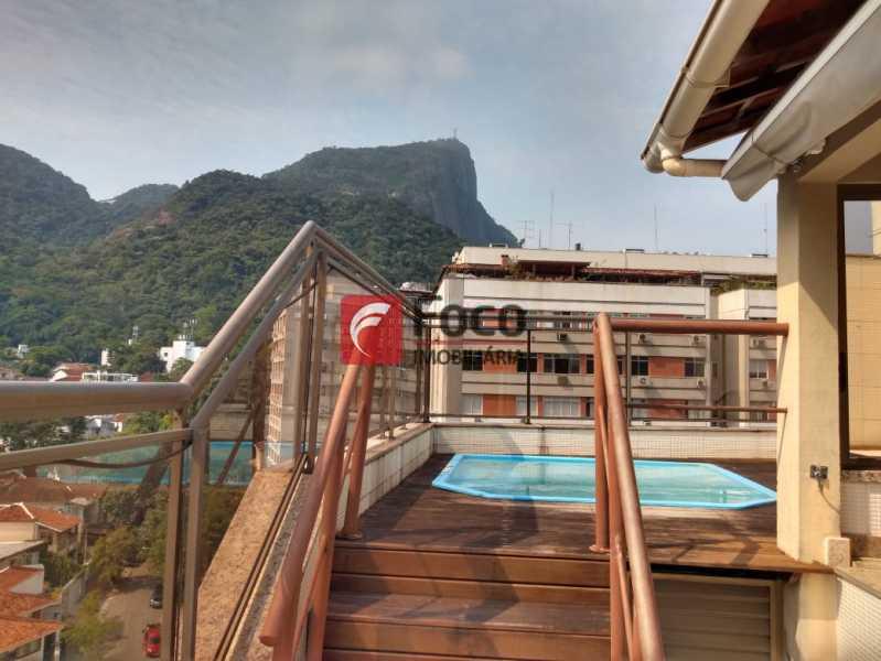 9169_G1602110870 - Cobertura à venda Rua Corcovado,Jardim Botânico, Rio de Janeiro - R$ 4.400.000 - JBCO50020 - 1