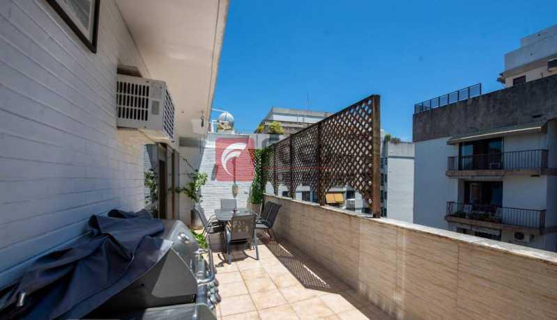 TERRAÇO - Cobertura à venda Rua Marquês de São Vicente,Gávea, Rio de Janeiro - R$ 1.300.000 - JBCO10015 - 8