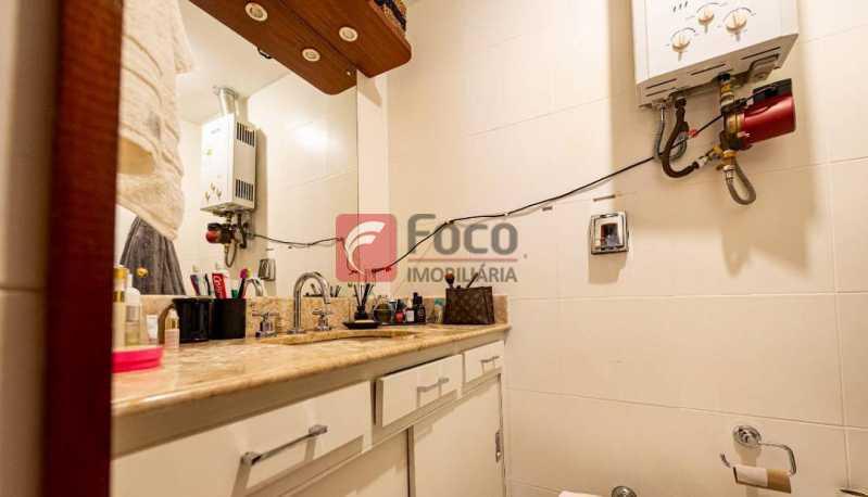 BANHEIRO SUÍTE - Cobertura à venda Rua Marquês de São Vicente,Gávea, Rio de Janeiro - R$ 1.300.000 - JBCO10015 - 13