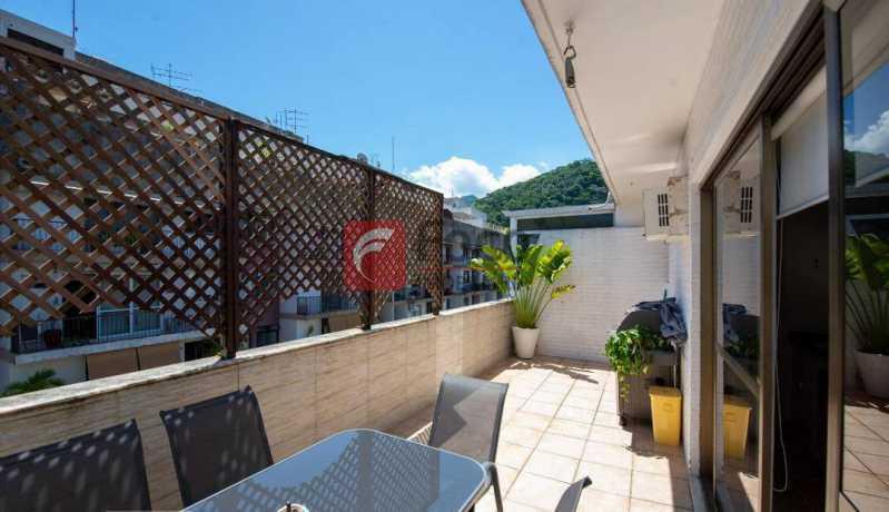TERRAÇO - Cobertura à venda Rua Marquês de São Vicente,Gávea, Rio de Janeiro - R$ 1.300.000 - JBCO10015 - 3