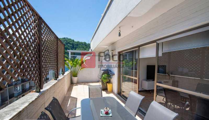 TERRAÇO - Cobertura à venda Rua Marquês de São Vicente,Gávea, Rio de Janeiro - R$ 1.300.000 - JBCO10015 - 9