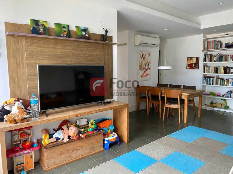 1 - Cobertura à venda Rua Almirante Guilhem,Leblon, Rio de Janeiro - R$ 4.850.000 - JBCO30215 - 4