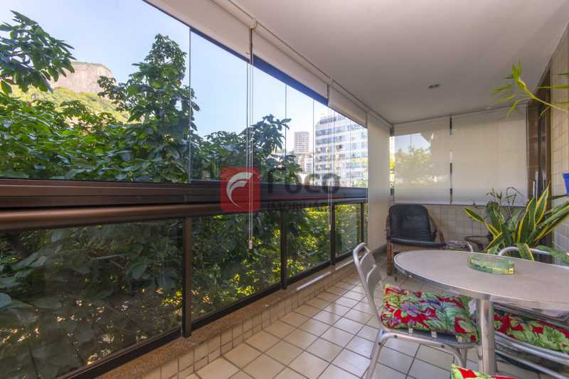 VARANDA  - Apartamento à venda Praça Atahualpa,Leblon, Rio de Janeiro - R$ 2.400.000 - FLAP20062 - 6