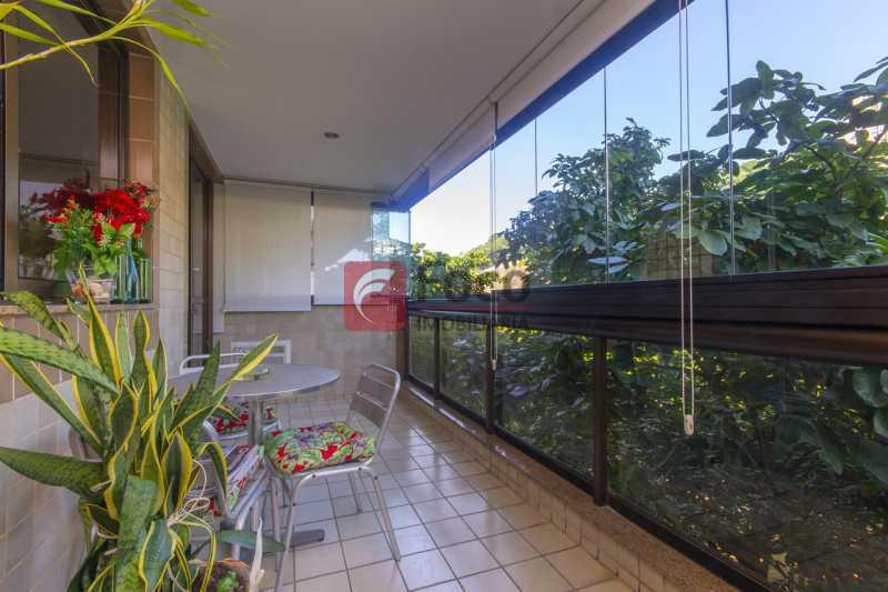 VARANDA - Apartamento à venda Praça Atahualpa,Leblon, Rio de Janeiro - R$ 2.400.000 - FLAP20062 - 1