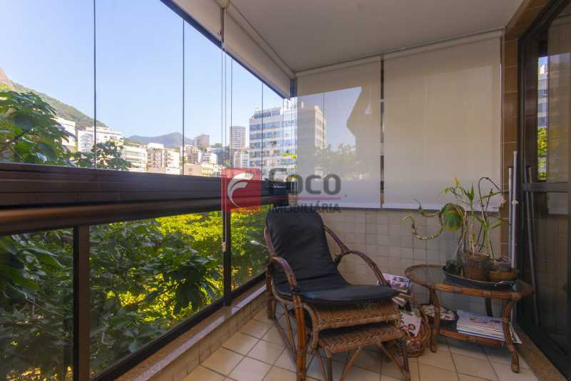 VARANDA - Apartamento à venda Praça Atahualpa,Leblon, Rio de Janeiro - R$ 2.400.000 - FLAP20062 - 4