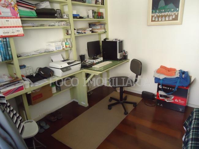 QUARTO 1 - Casa à venda Rua Assunção,Botafogo, Rio de Janeiro - R$ 2.800.000 - JBCA50001 - 7