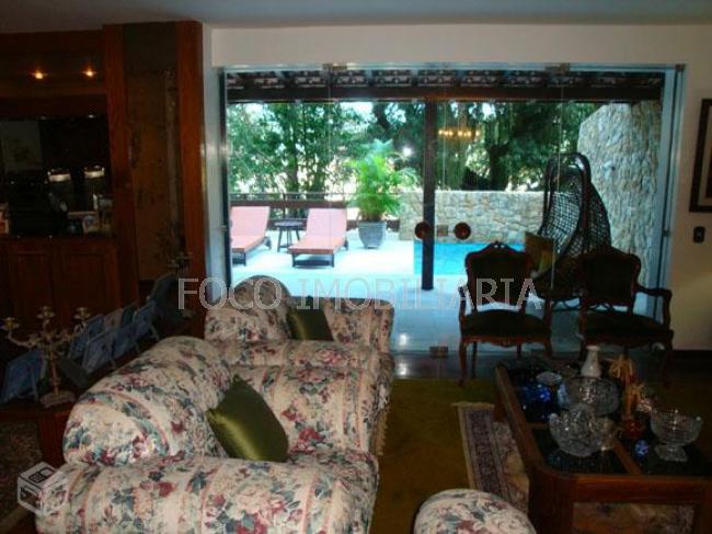 SALA - Casa à venda Rua Campo Belo,Laranjeiras, Rio de Janeiro - R$ 3.360.000 - FLCA40012 - 1